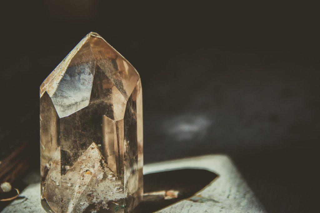 cristaux de purification
